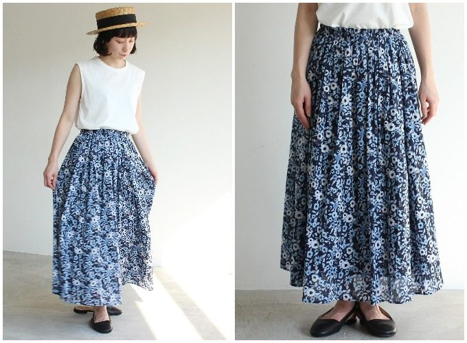 柄スカートでつくる春夏コーディネート。周りと差がつくスカート着こなし術6選