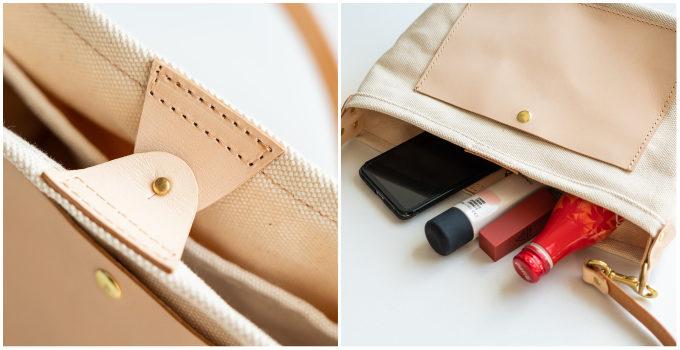 帆布と革のコラボレーション。じっくりと育てていきたい「LEVAS」のショルダーバッグ