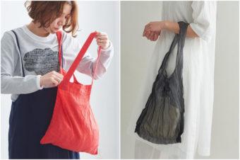 エコバッグにも普段使いにもOK。今欲しいのは気楽に持てる布バッグ