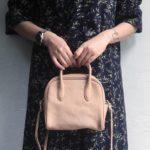 長く使い続けたい。柔らかな風合いの革で作られた「Damasquina」のミニバッグ