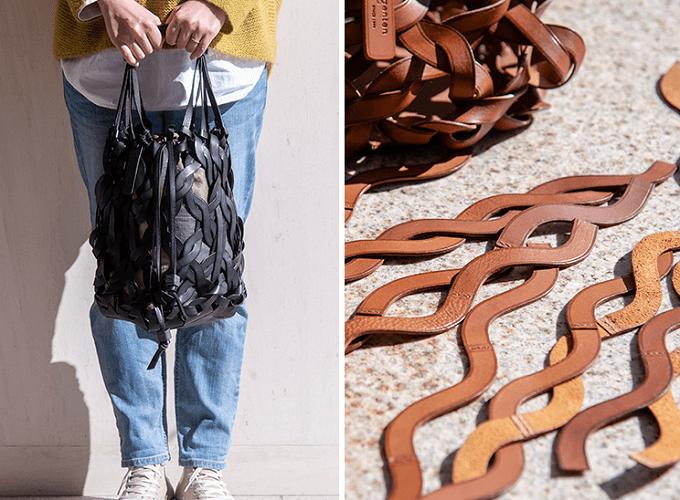 こだわりの素材使いが魅力的。春夏の装いを彩る「genten」のレザーバッグ