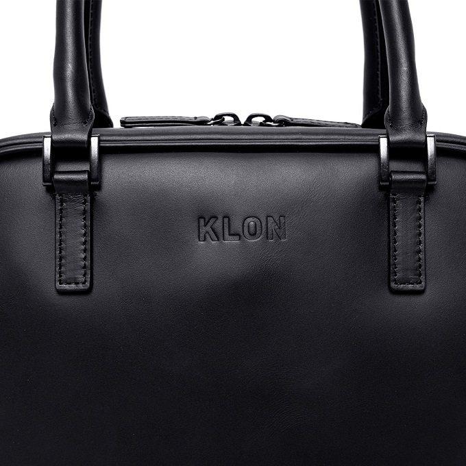 シンプルでどんな服装にもマッチ。上質な本革を使った「KLON」の2WAYハンドバッグ
