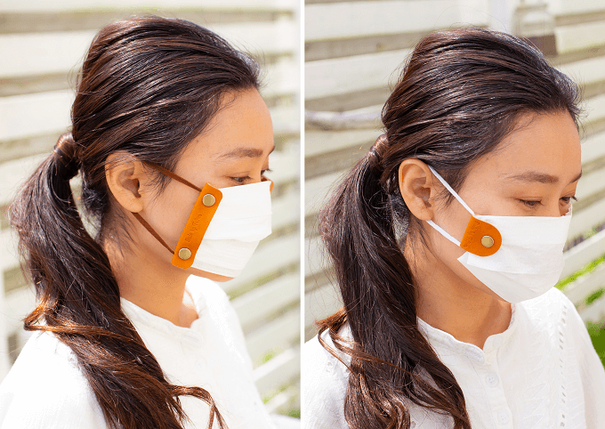 通勤時の感染予防対策に。おしゃれなつり革カバーやマスクホルダーを提案する「Made by Father」