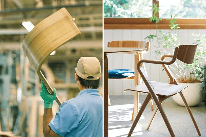 木の曲線が美しいリビングチェア。身も心もリラックスできる「天童木工」のインテリアプロダクト