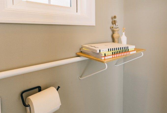 デッドスペースを無駄なく活用。「DRAW A LINE」の突っ張り棒を使ったおしゃれ収納術6選