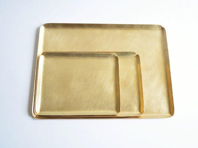 ミニマル空間のアクセントに。さり気ない輝きを放つ真鍮インテリアアイテム<5選>