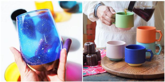 料理をおいしく見せてくれる。カラー、質感、デザインにこだわった器「CHIPS mug.」シリーズ
