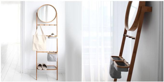 置きっぱなしを防いで整った部屋に。服や小物がスッキリ片づくスリムな壁掛け式ラック<3選>