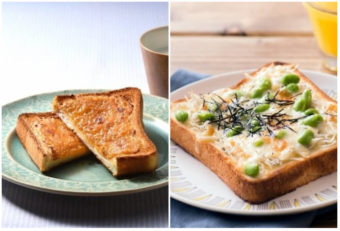 朝起きるのが楽しみになる。簡単&絶品トーストレシピ<3選>