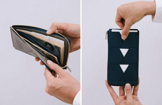 """カードを""""見える化""""収納。キャッシュレス時代の新しい革財布「ALBERTE」シリーズ"""