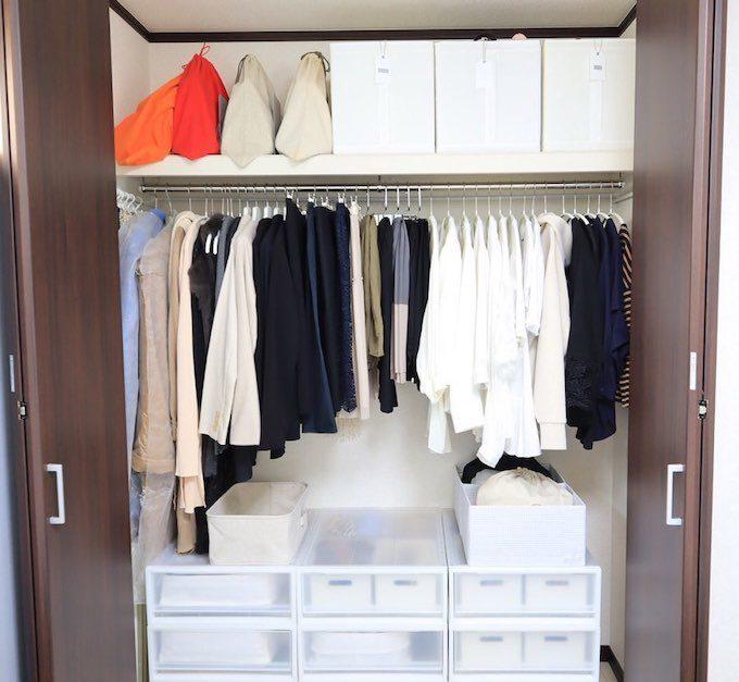衣替えがいらなくなる。収納のプロに聞くすっきりクローゼットを作る5つの収納ルール