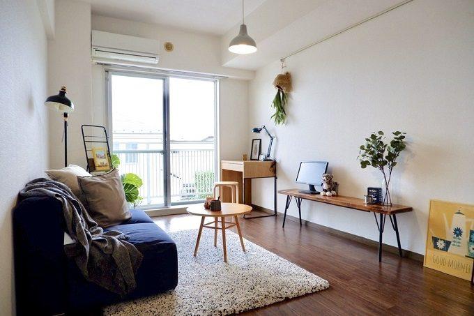 狭くてもちょっとした工夫で「広々とした空間」に。レイアウトや家具選びの3ポイント