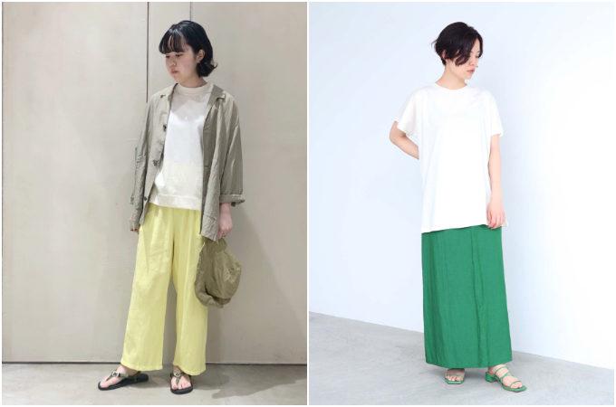 定番の「白Tシャツ」、今年はどう着る?トレンド感のあるお手本コーディネート<8選>