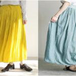 「夏スカート」は鮮やかカラーを選びたい。色別おすすめ...