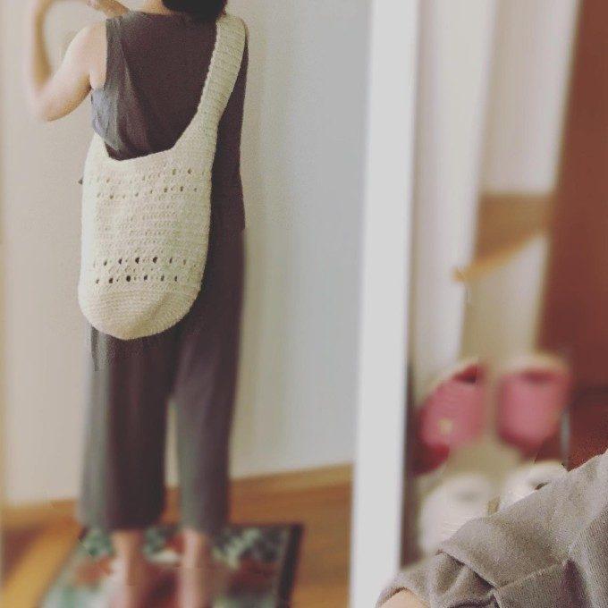 爽やかな夏素材とシンプルデザインに惹かれる。軽くて大容量のマルシェバッグ<3選>