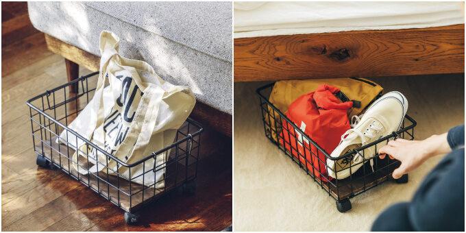 空間はもっと上手く使える!掃除・片付けもラクできる。「浮かせる」収納アイテム5選