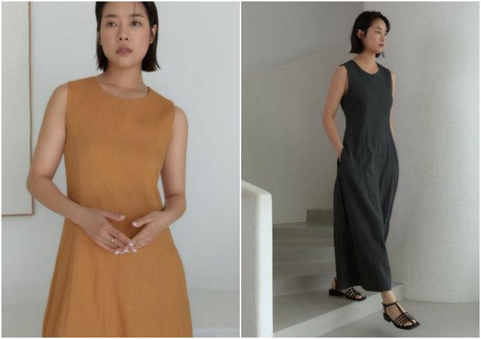 着るだけでスタイル映え。甘さ控えめな装いを演出する「lato」の夏ワンピース