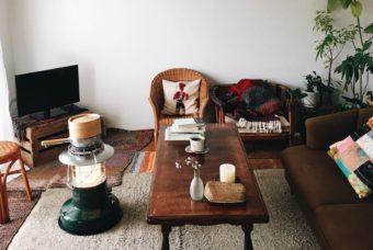 自分好みの空間づくりが叶う団地暮らし。古き良きものを活かしたインテリア実例
