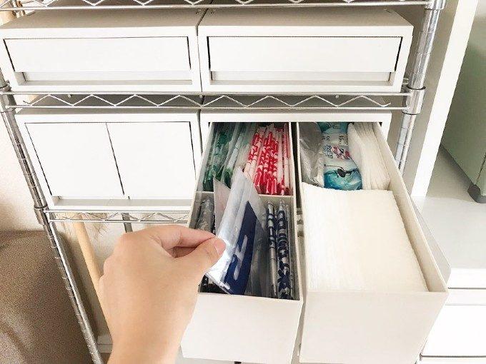 狭いキッチンがスッキリ使いやすくなった。無印良品好きのキッチン美収納<7選>