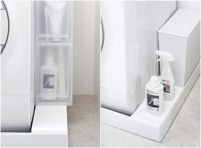 洗濯機ヨコ・吊り戸棚下・テレビ裏も。デッドスペースを活用した無駄ゼロ収納グッズ<6選>