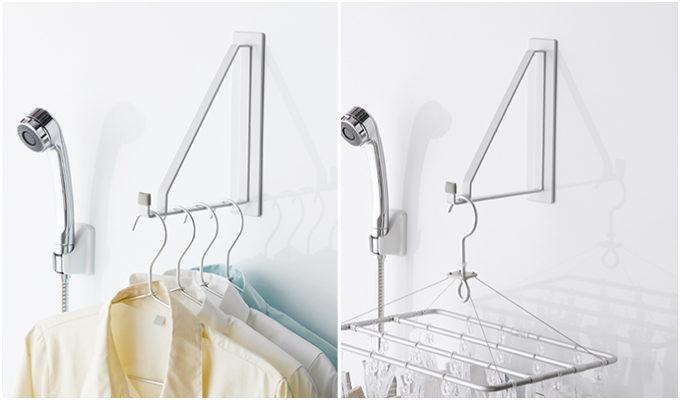 干す場所がない…を解決。部屋干し&服収納に使える「山崎実業」のフック・ラック<5選>