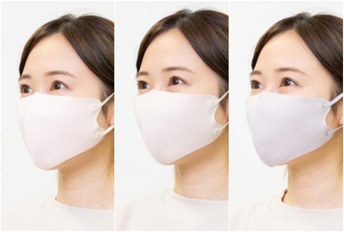 肌色が明るく映える。大人女性に似合う、この夏おすすめの「カラーマスク」3選