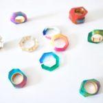 心浮き立つ虹のような色合い。夏の装いに加えたい「PRISM...