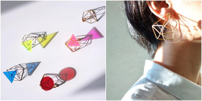心浮き立つ虹のような色合い。夏の装いに加えたい「PRISM」の彩り豊かなイヤーアクセサリー