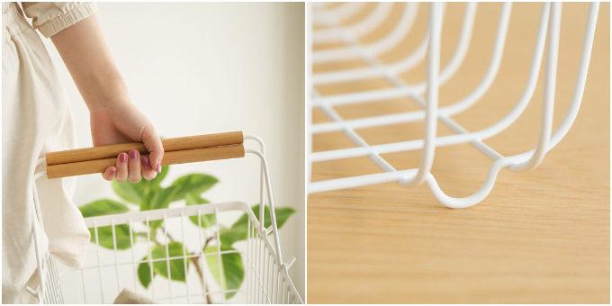 ワンランク上の部屋作りに。中身が見えて取り出しやすい「Re:CENO」のかご収納