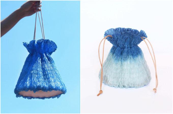 空気を含んだような軽やかさ。夏に持ちたい「MIONA SHIMIZU」の絞り染めバッグ