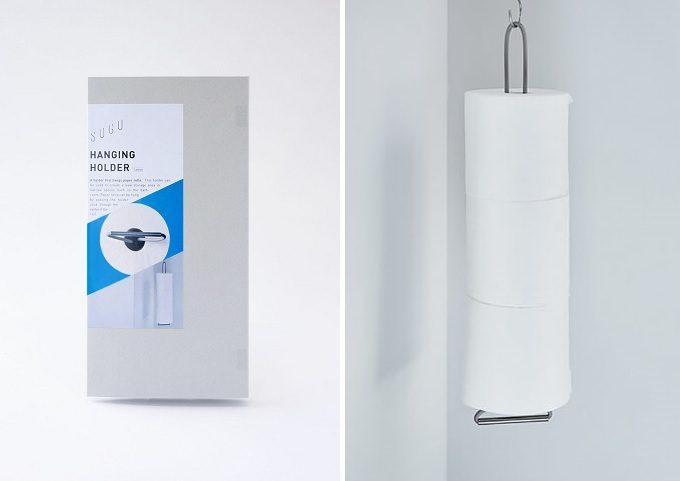 新発想の日用品。便利さとミニマルなデザイン性を兼ね備えた「SOGU」の吊るせる収納グッズ