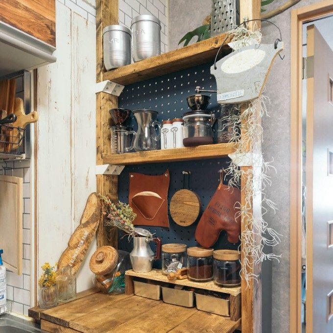 壁も立派な収納スペースに。「ディアウォール」と「ラブリコ」を使ったプチDIY事例<7選>