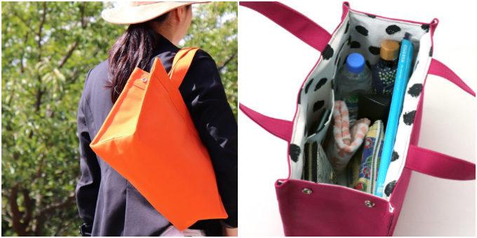 毎日持ちたいバッグが見つかる。A4サイズが入る、秋色も揃うタイプ別帆布トート特集