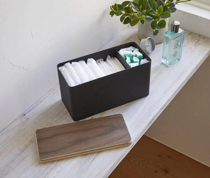 コレだけは出しっぱなしでもOK。洗面所をスッキリ見せる「山崎実業」収納アイテム<8選>