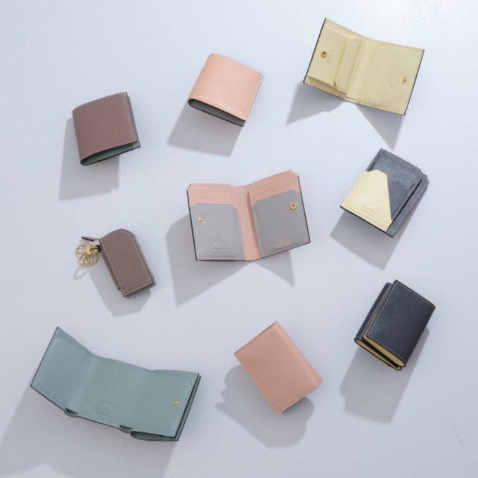 コンパクトながら容量たっぷり。ミニマリストにもおすすめの本革ミニ財布特集