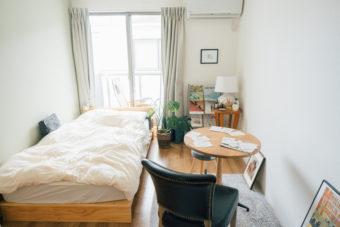1K・ワンルームでもダイニングテーブルが置ける。一人暮らしのおしゃれなレイアウト実例集