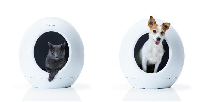 ペットとの暮らしをワンランクアップ。優れた機能とデザインを備えたペット家電「petyes」とは