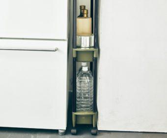 キャスター付きで移動も自由自在。家中の隙間にピタッと収まるスリム収納ワゴン<3選>