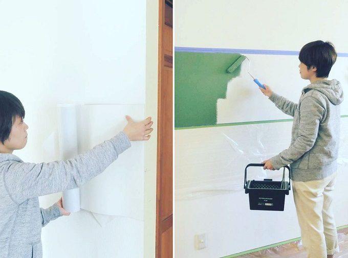 ただの壁が磁石がくっつく魔法の壁に変身。取り外しが簡単にできる「マグネットシート」
