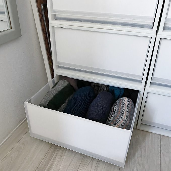 「上・中・下」に分けて使うのがコツ。片付けも服選びもしやすい、クローゼット空間の作り方