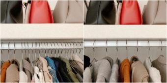 管理できる服の枚数は100着?効果大!クローゼットの服の「適正量」を知る方法&減らし方