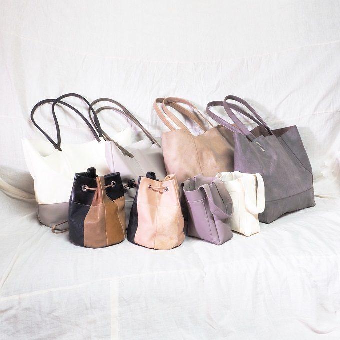 大容量サイズで軽いのも魅力。「modellismo」が作るシンプルでしなやかな革バッグ