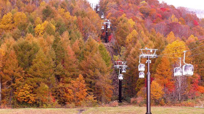 秋のお出かけにおすすめ、紅葉が絶景の福島県の裏磐梯の「グランデコリゾート」2